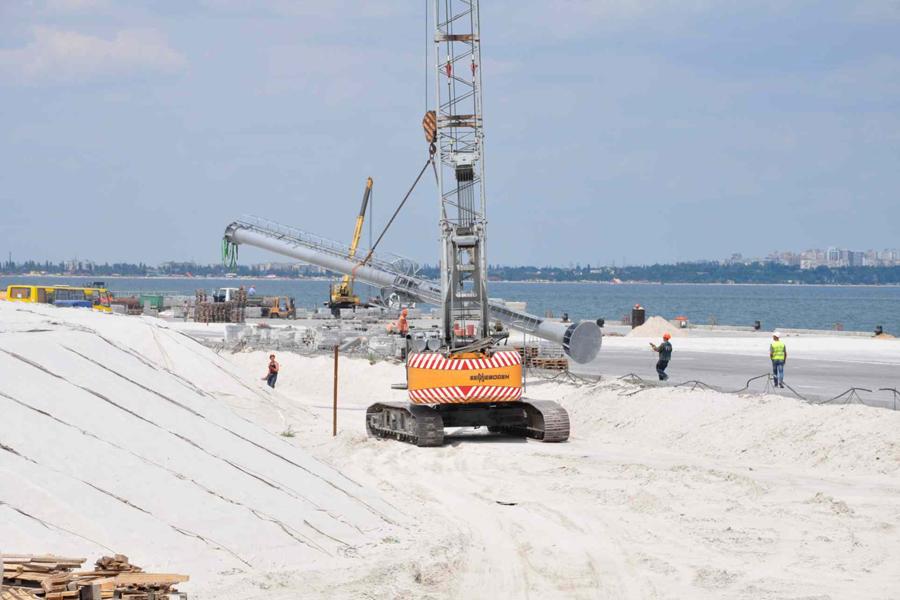 Электроснабжение причалов в рамках реализации проекта по строительству в Одесском порту нового контейнерного терминала «Карантинный мол»