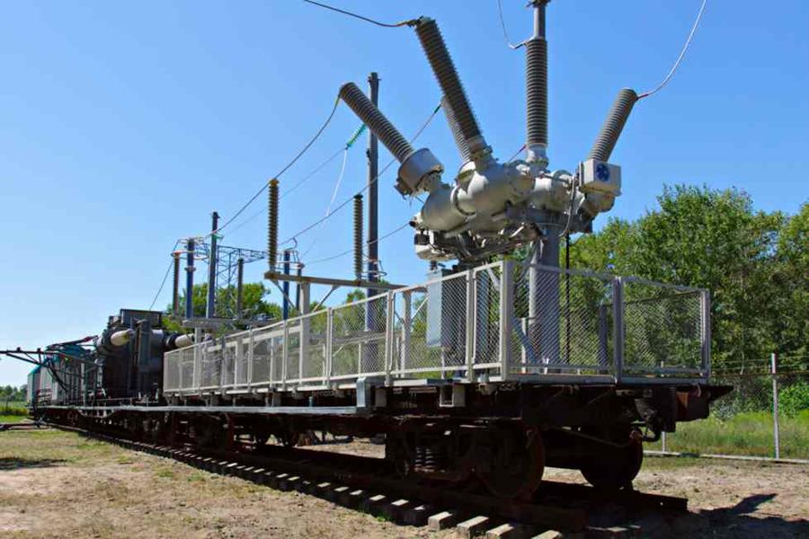 Передвижная тяговая подстанция ПТП Кременчуг