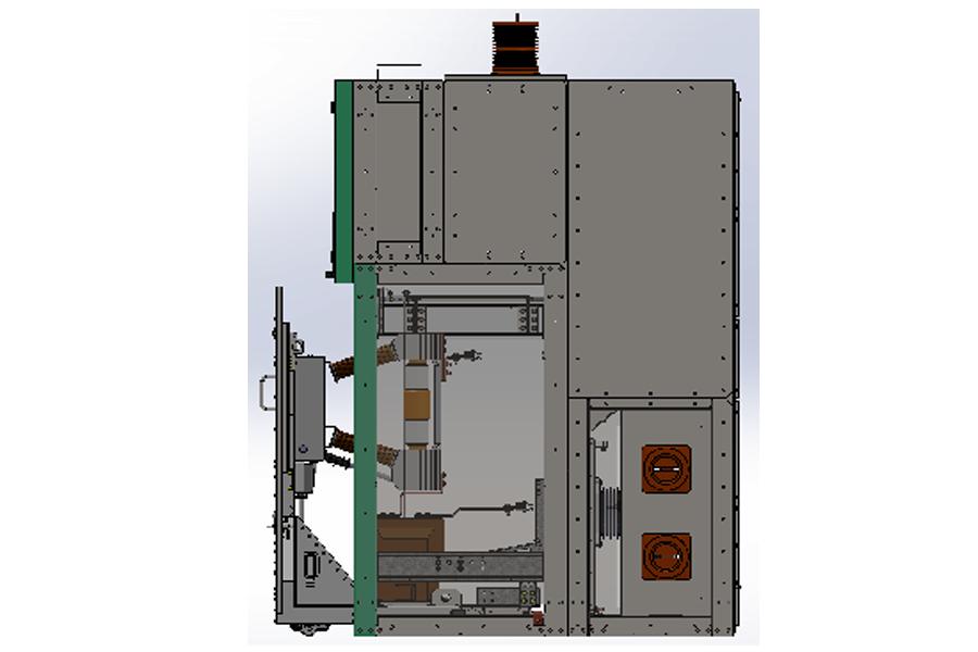 Ячейка КРУ серии К-35В