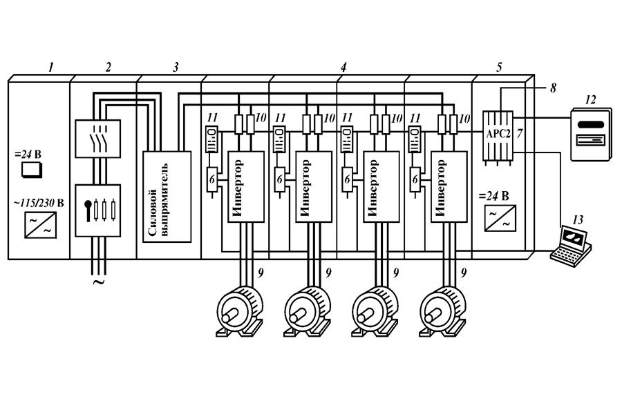 Фильтрокомпенсирующее устройство